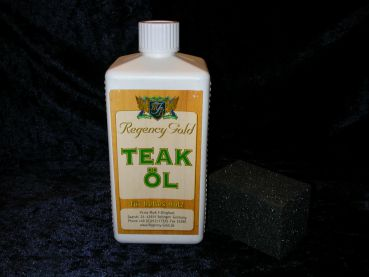 500 ml Regency Gold Teak Oil ( light )